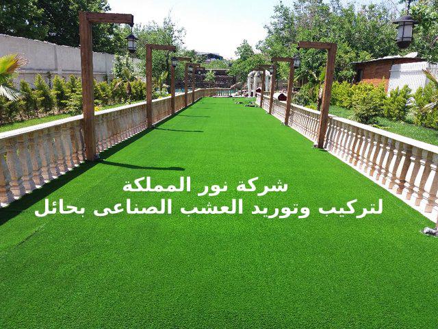 مؤسسة تركيب وتوريد عشب صناعي بحائل
