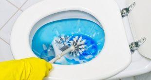 تنظيف حمام المنزل